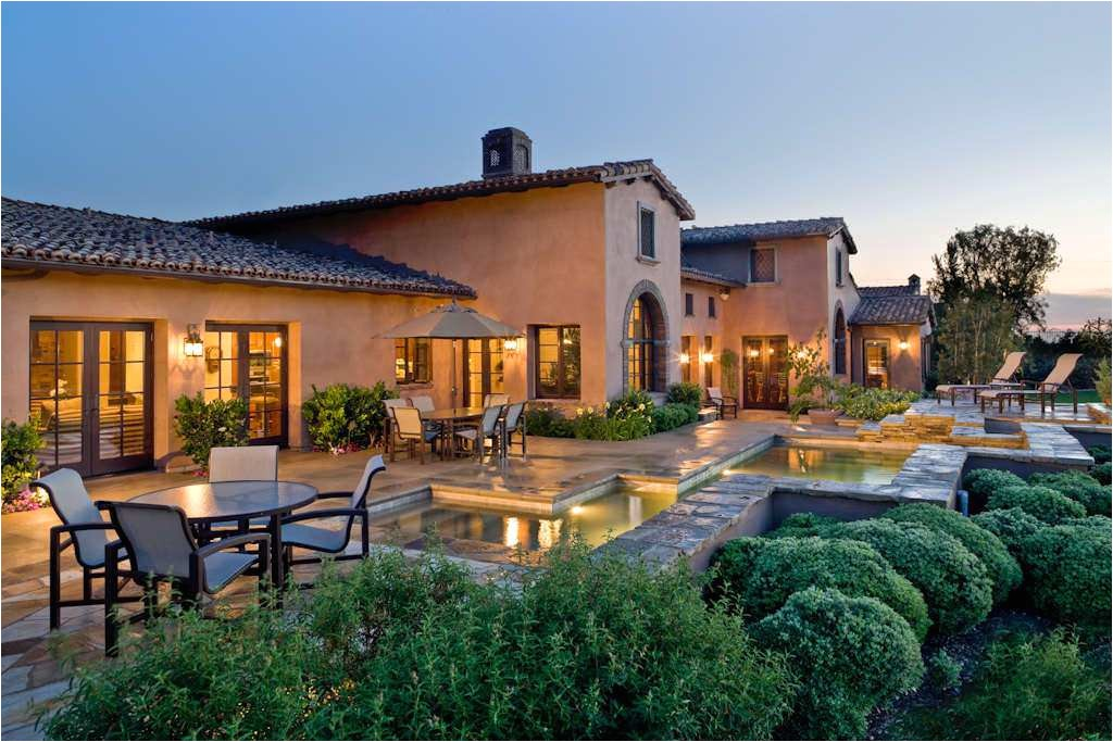 tuscan style house plan
