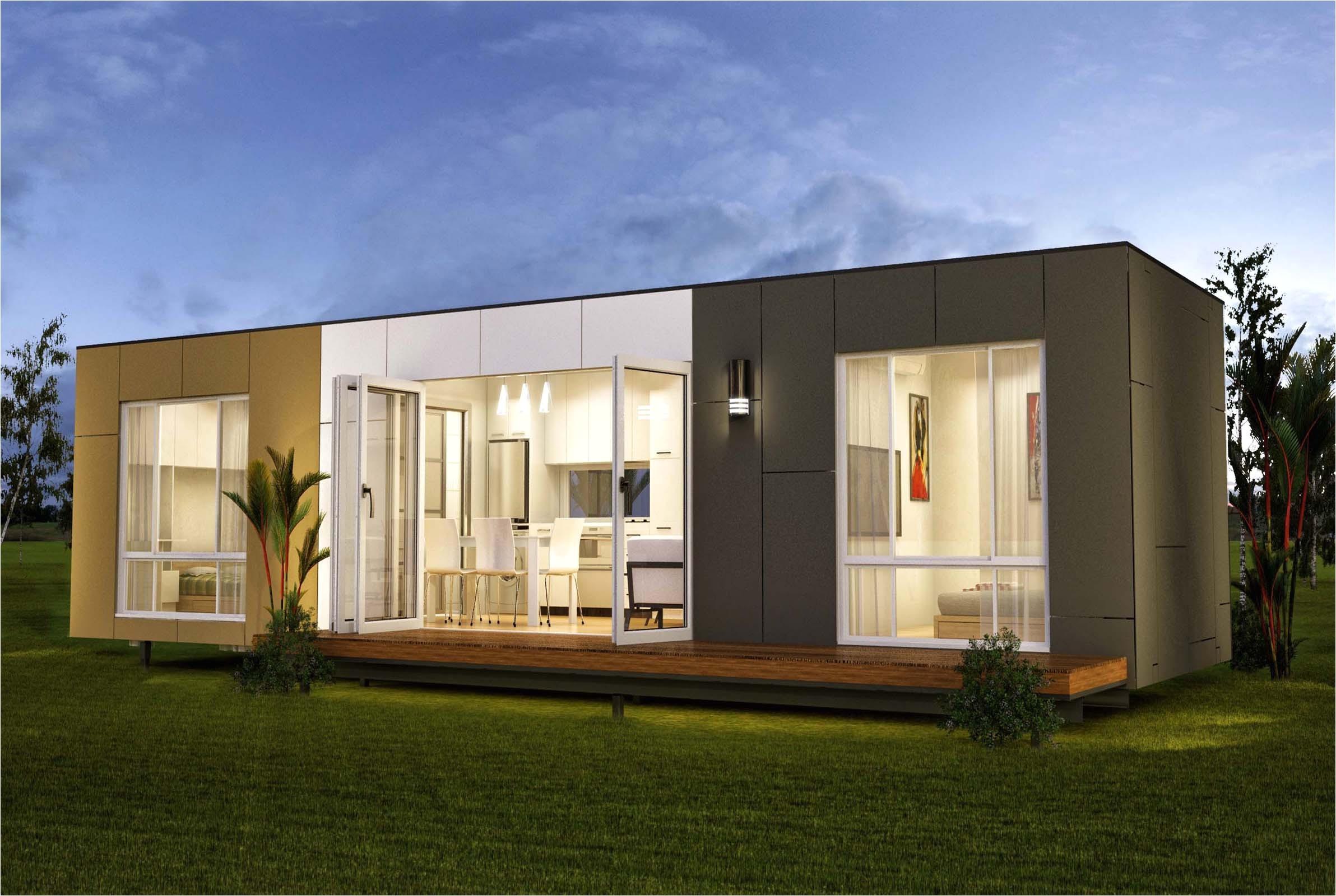 cheap minimalist modular home plans