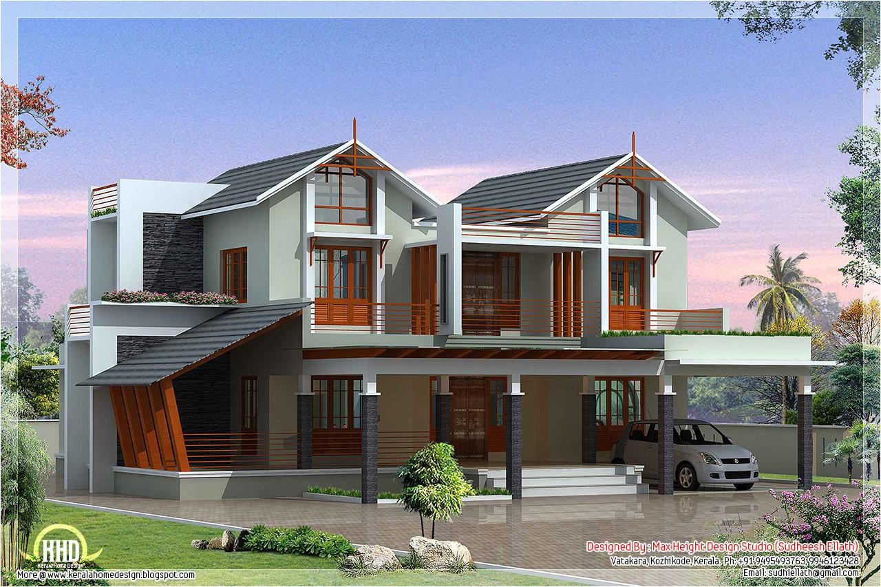 modern and unique villa design