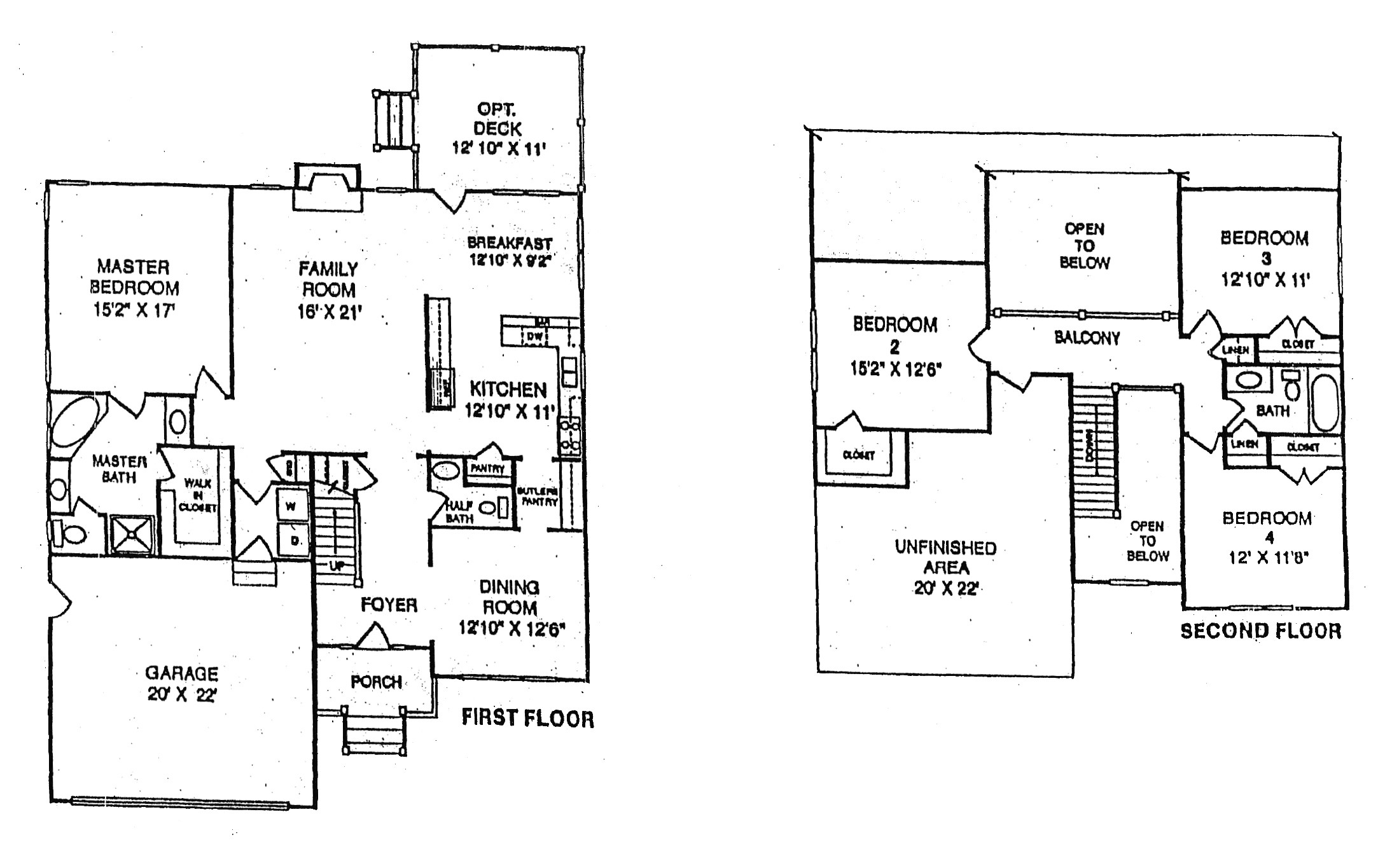 rambler floor plans with bonus room over garage