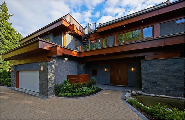 West Coast Style Home Plans John Henshaw Architect Inc Vancouver 39 S top Custom