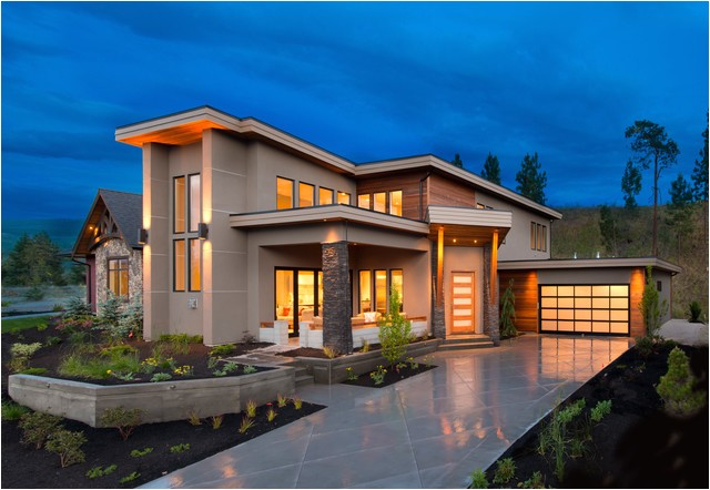 west coast contemporary style homes