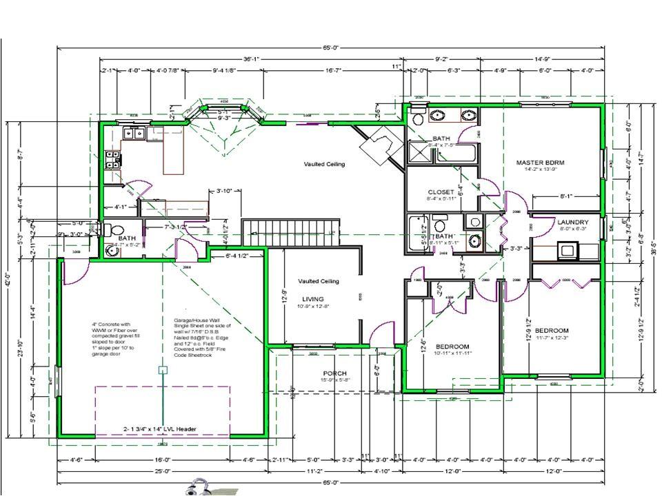free house plan