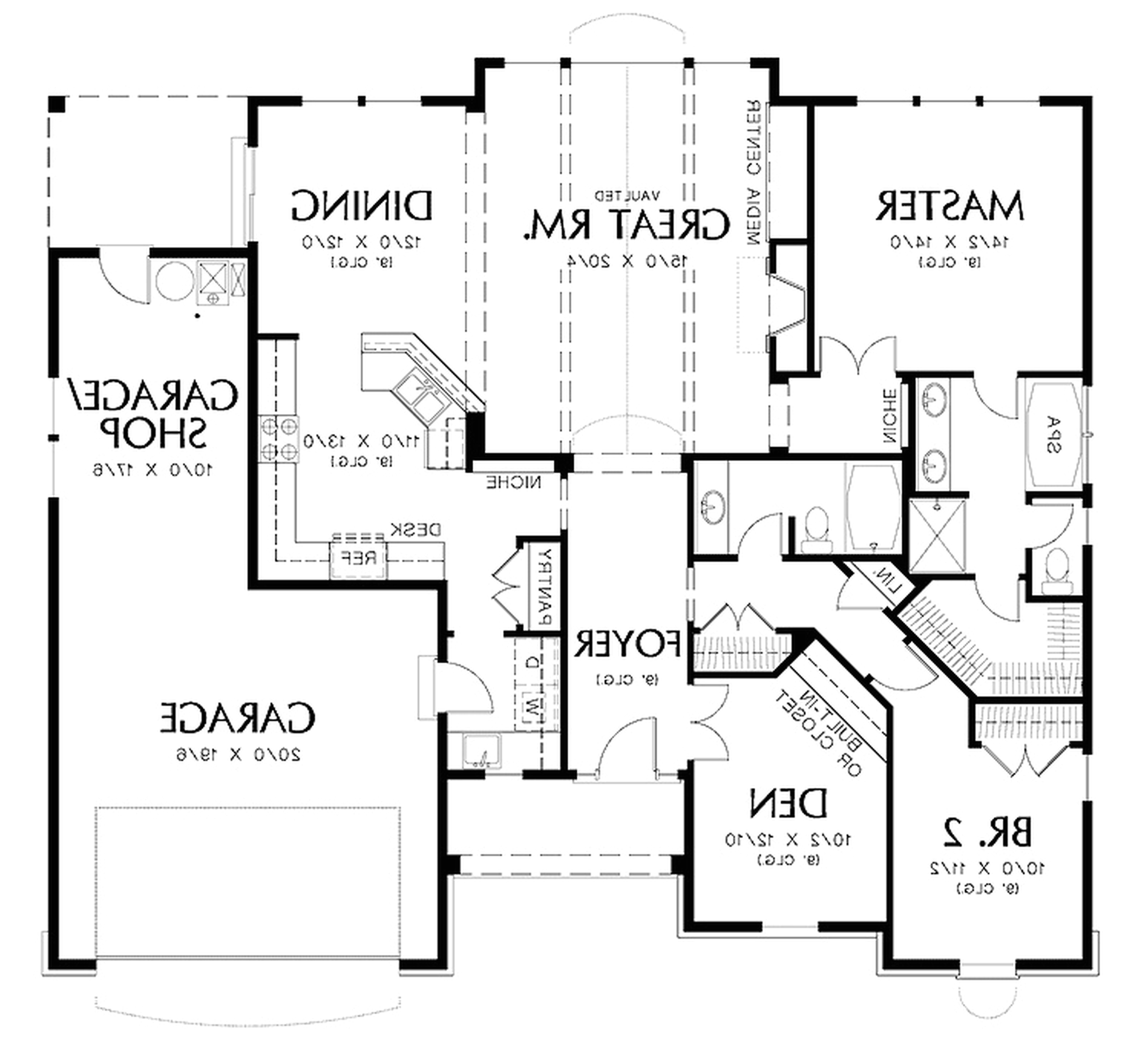 how to draw blueprint of house