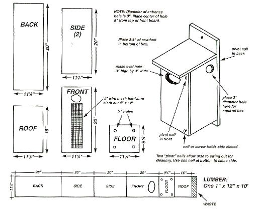 Wood Duck House Plans Instructions How to Made Wood Duck Nesting Box Plan Woodworking