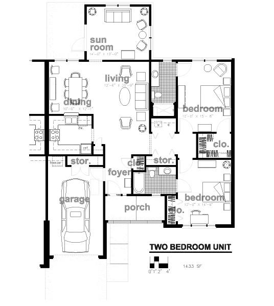 woodland cottage house plans