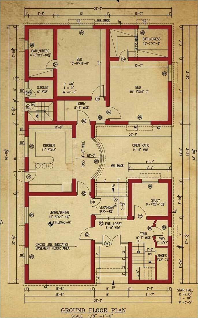 house floor plan 1 kanal house