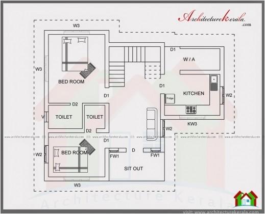 best 2 bedroom house plan kerala style plans 1500 square feet 1000 sq 2 bedroom house plan kerala style pictures