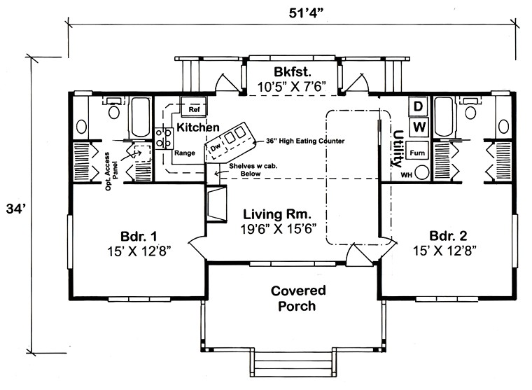 cabin plans under 1200 square feet