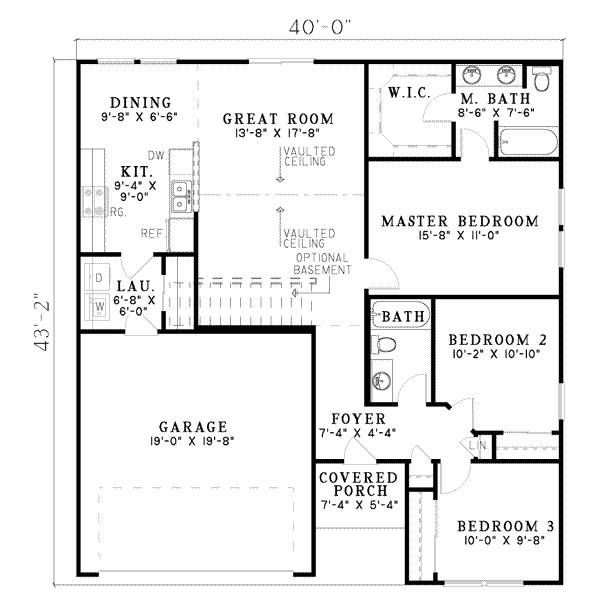 1250 square feet 3 bedrooms 2 bathroom traditional house plans 2 garage 8315