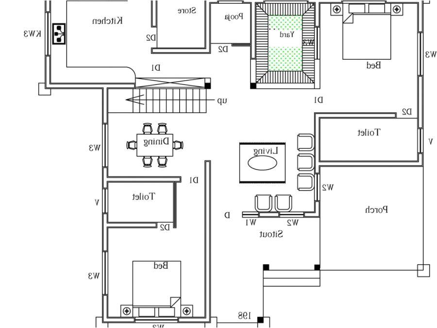 1500 sq ft duplex house plans
