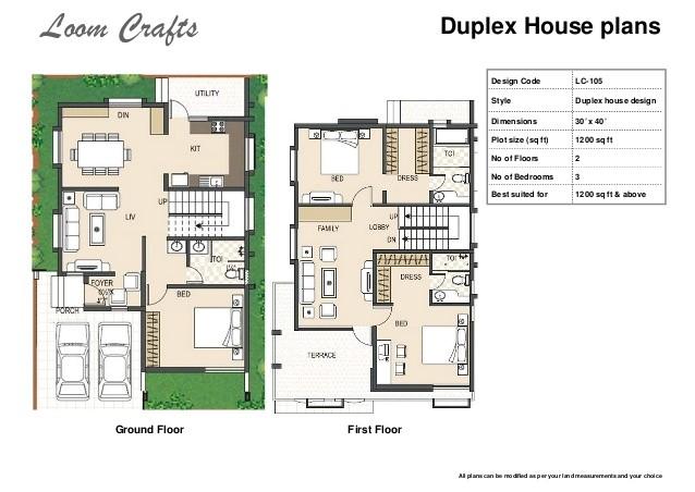 indian duplex house plans 1500 sq ft
