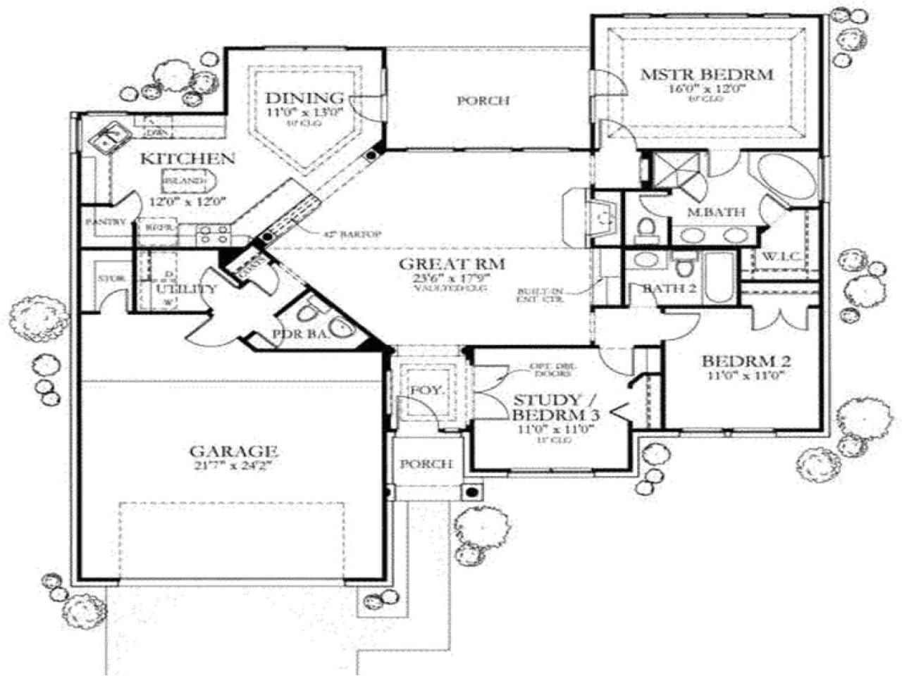 d09d16a0842b05aa 1500 sq ft house floor plans 1500 sq ft one story house plans