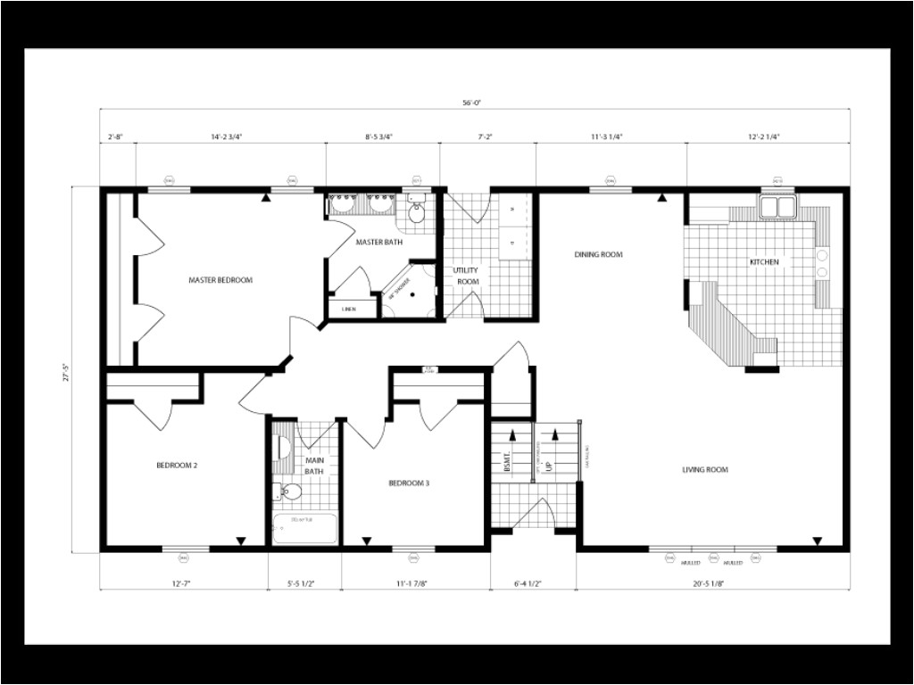 1500 square foot ranch house plans single story