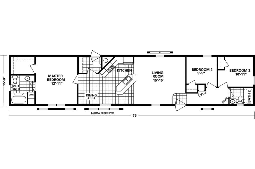 16 x 80 mobile home floor plans lovely 16 x 80 mobile home floor plans floor plans pinterest tiny