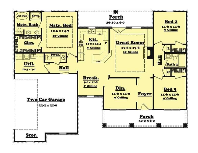home plan 20616