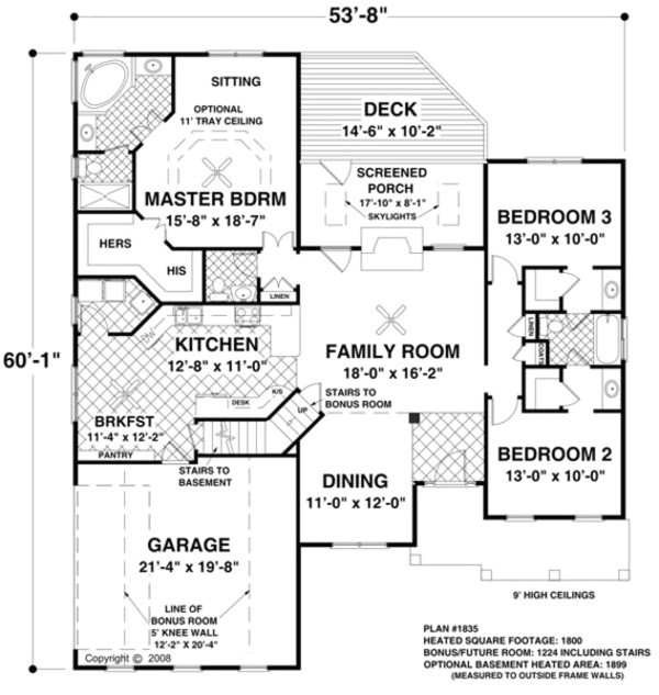 1800 square feet 3 bedrooms 2 bathroom ranch house plans 2 garage 33544