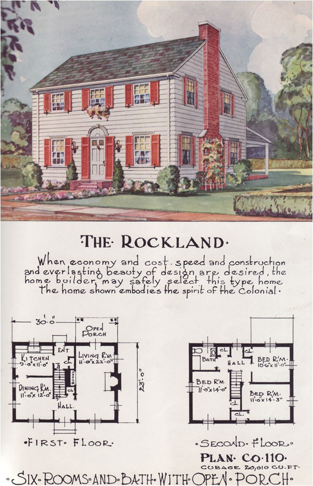 house plans from the 1950s