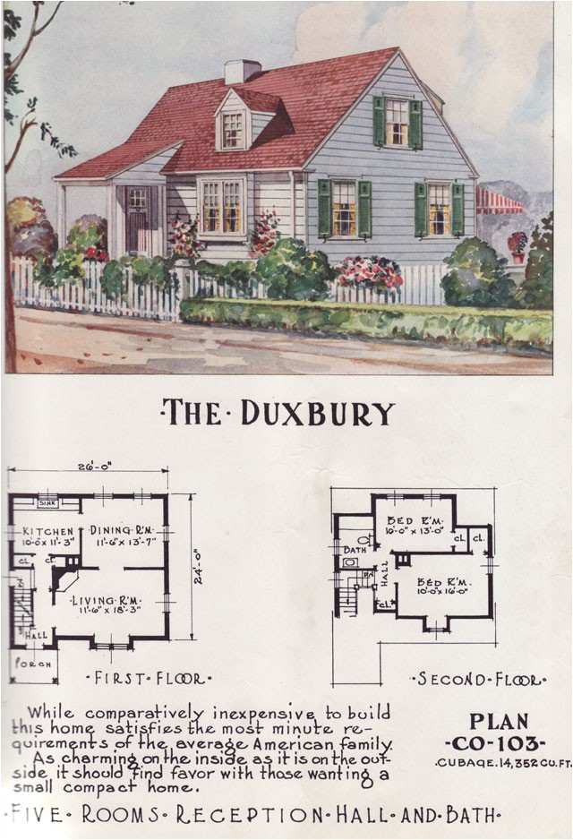 1950s Home Plans Retro Style Home Plans From the 1950s and 1960s