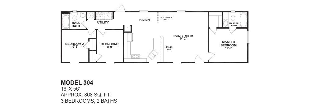 floor plan 1999 fleetwood mobile home