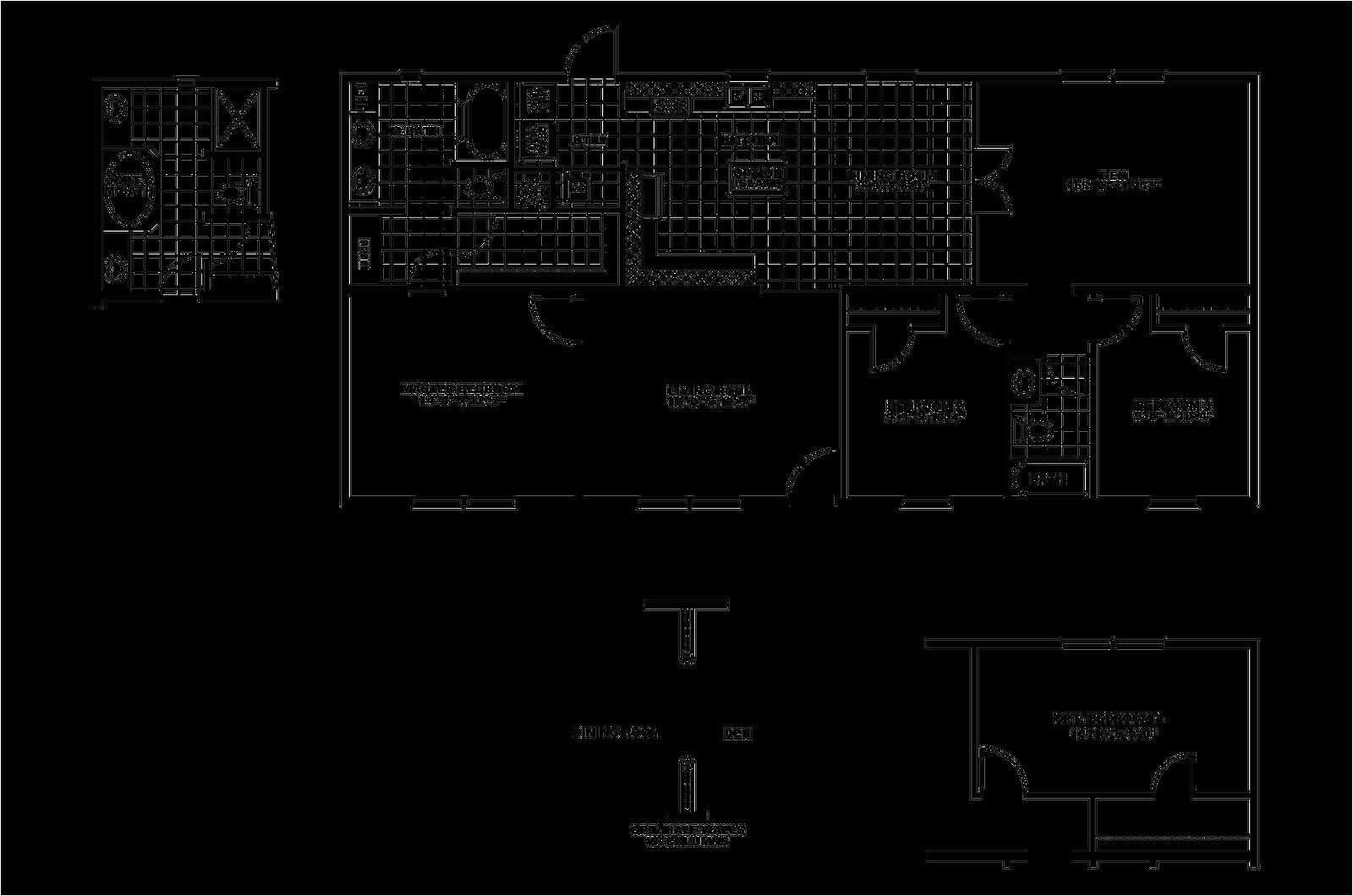 1999 skyline mobile home floor plans