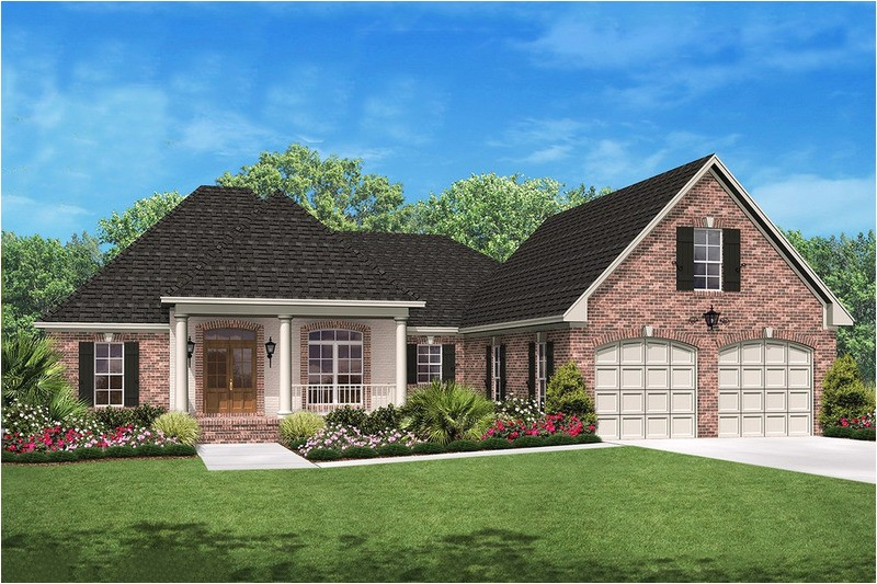 2000 square feet 3 bedrooms 2 5 bathroom french country plans 2 garage 32587
