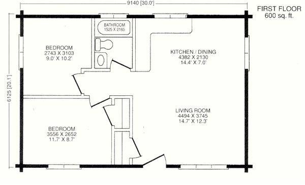 chalet model log cabin kits 20x30 house plans camp ideas 20x30 house plans