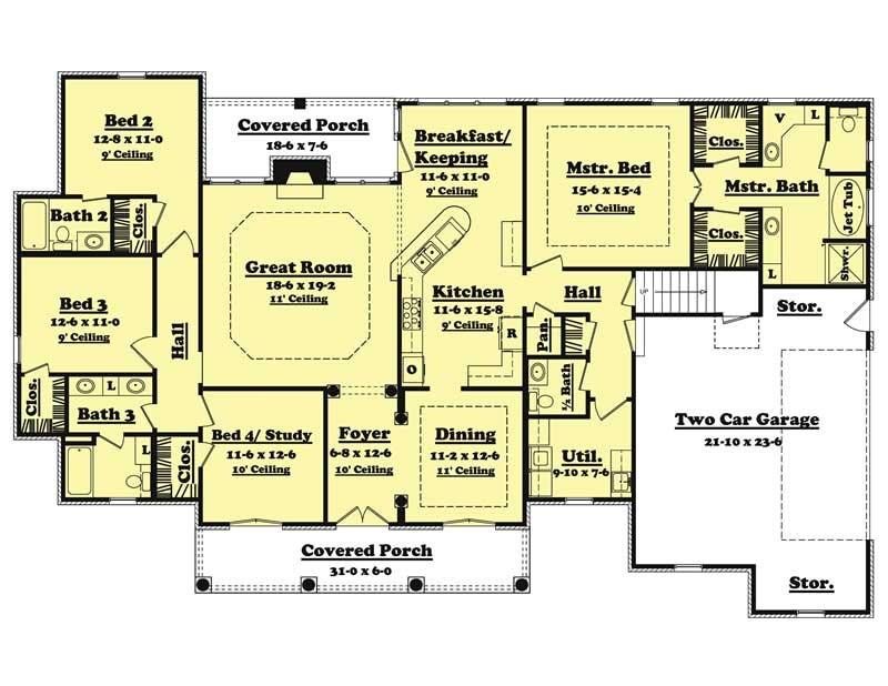 home plan 20620