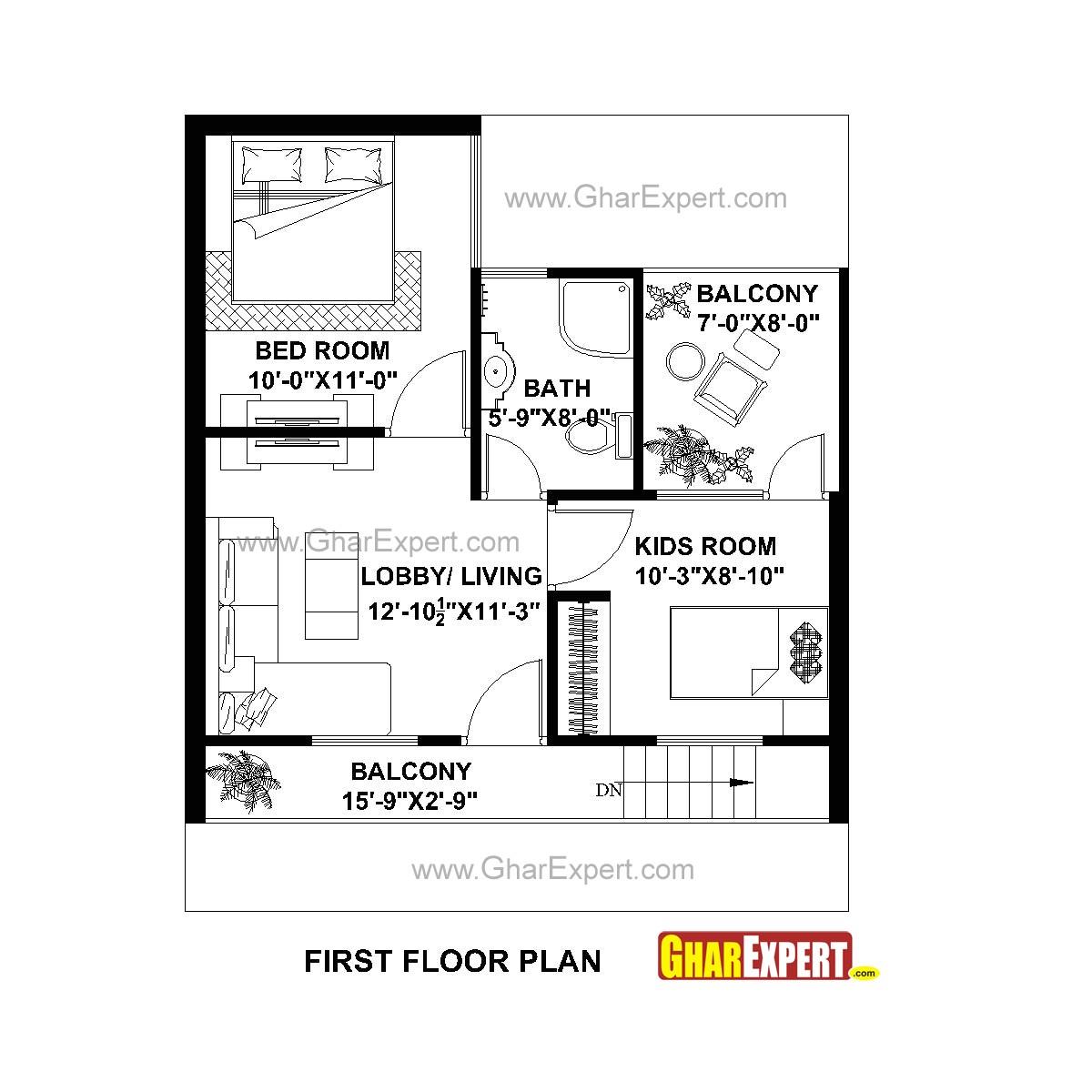 25x30 house plans