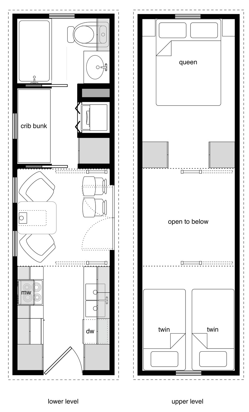 28 Foot Tiny House Plans Family Tiny House Design Tiny House Design