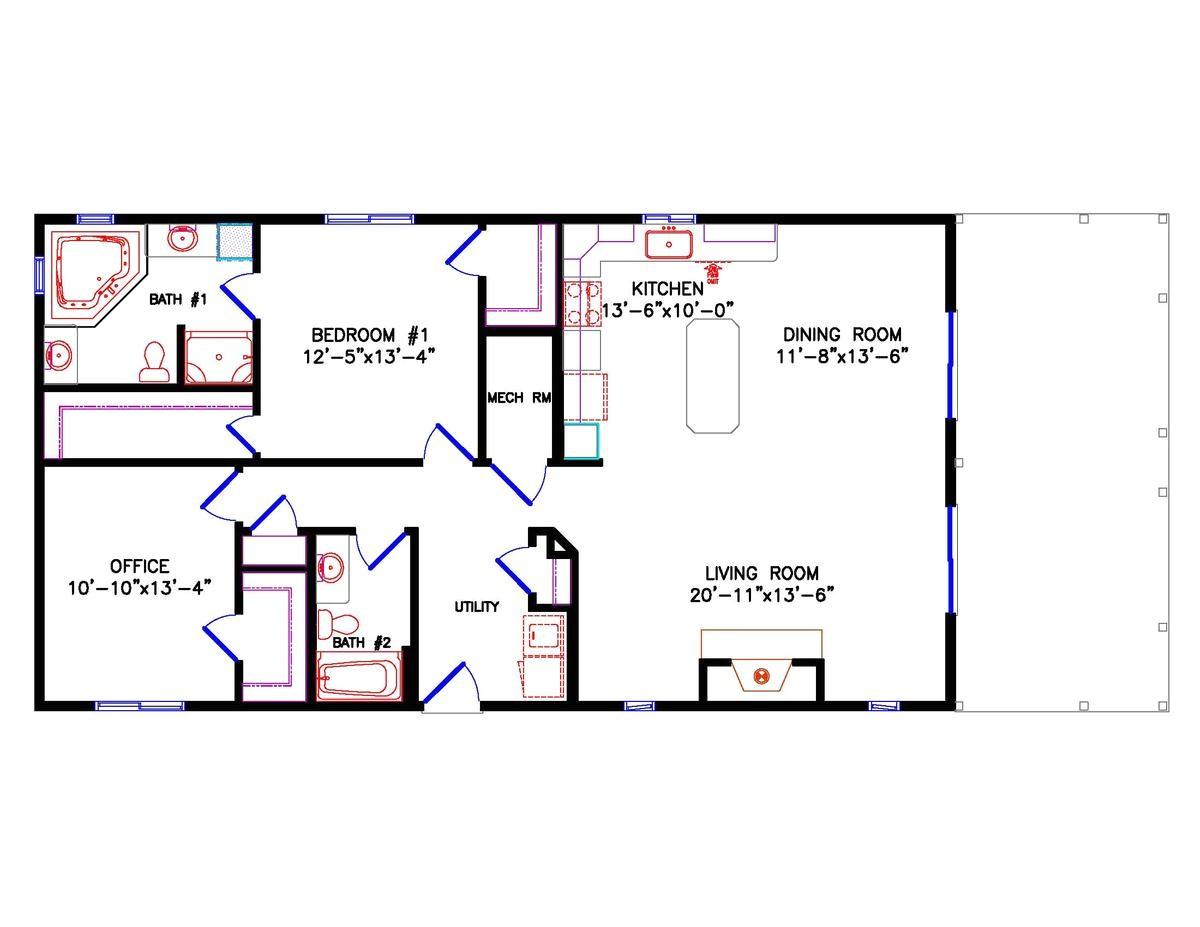 60 x 40 house plans