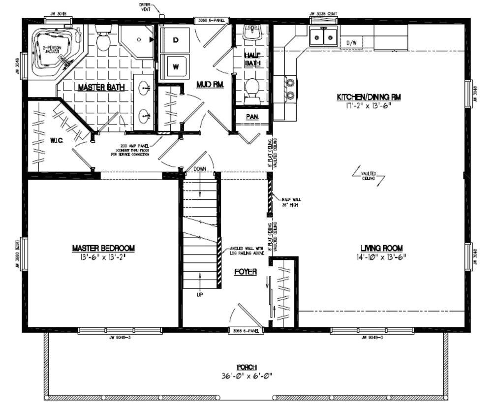 floor plans 40 x 40