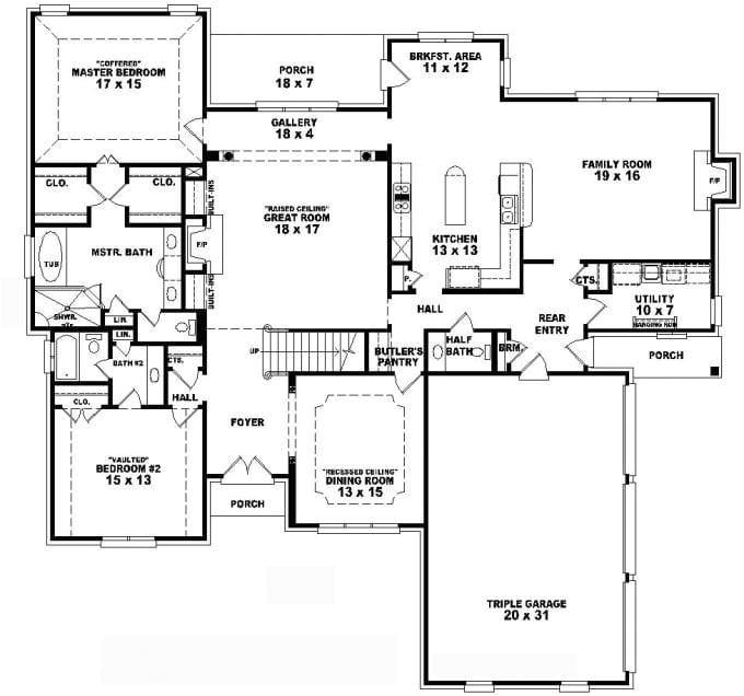 floor plans for a 4 bedroom 2 bath house unique 4 bedroom 3 5 bath house plans home planning ideas 2017