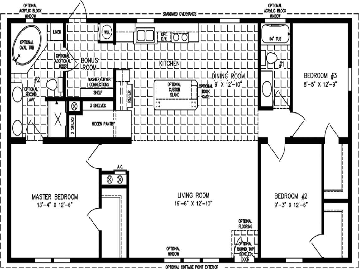b7a15062a5e3240b mobile home floor plans 1200 sq ft 3 bedroom mobile home floor plan