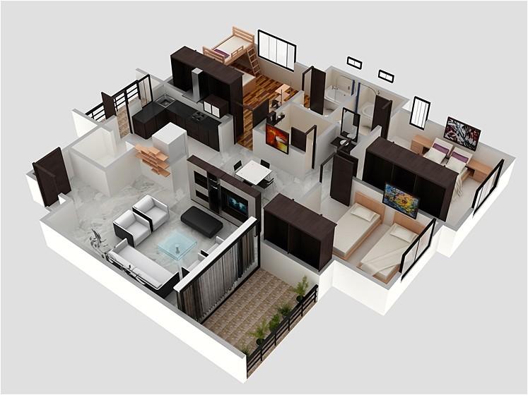 apartment interior 70