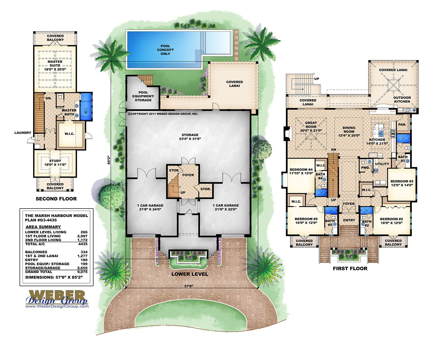 simple modern 3 story house plans