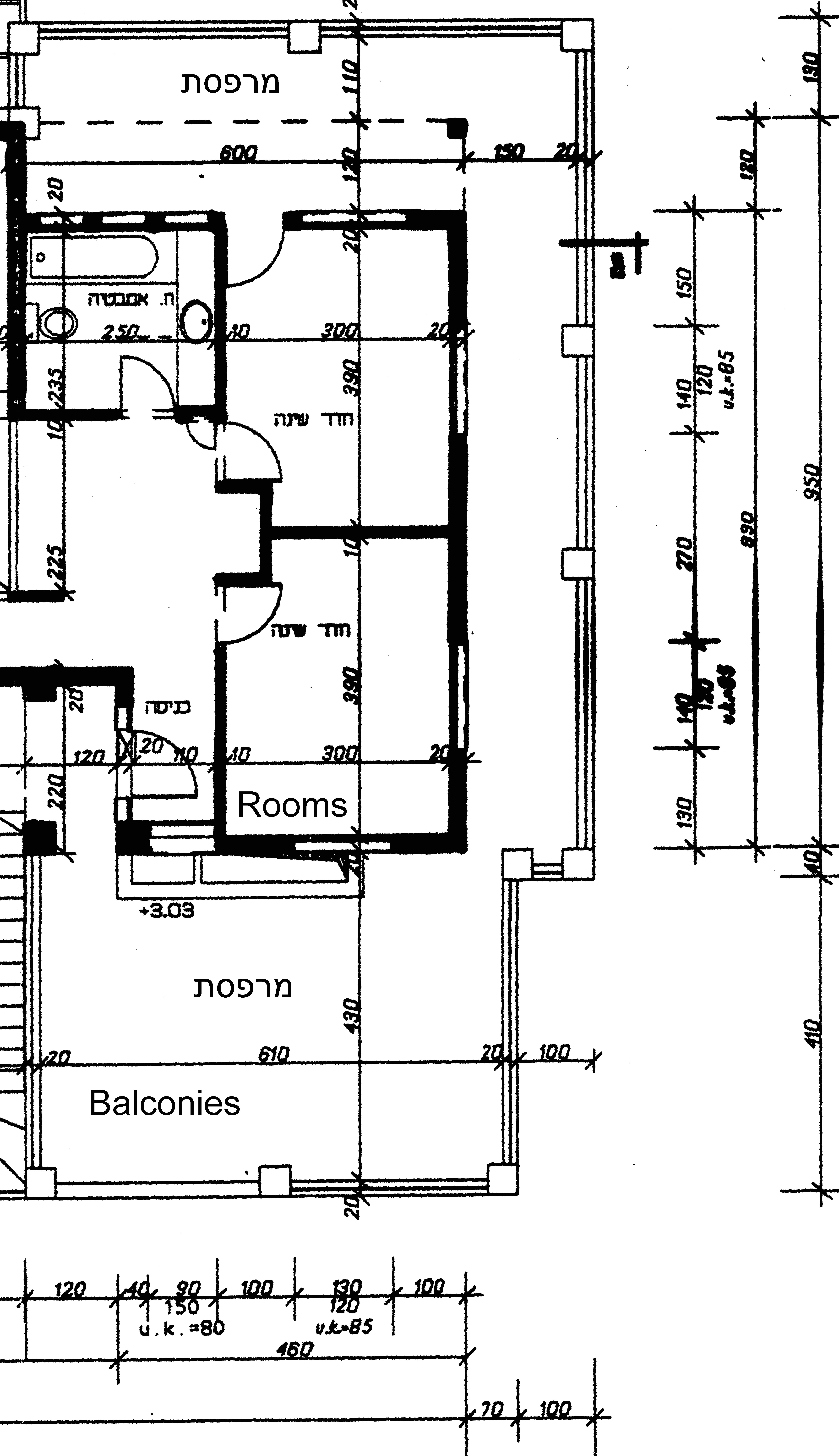house plan for 50 square meter
