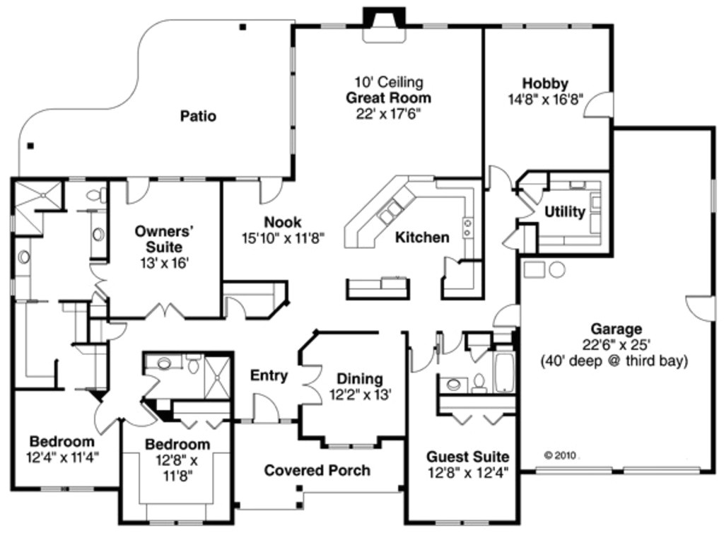 3000 square feet 4 bedrooms 3 bathroom european house plans 3 garage 36553