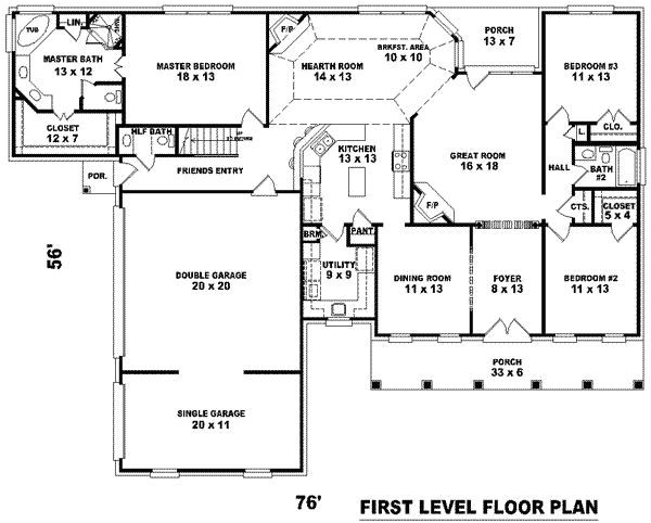 floor plans for 3000 sq ft homes