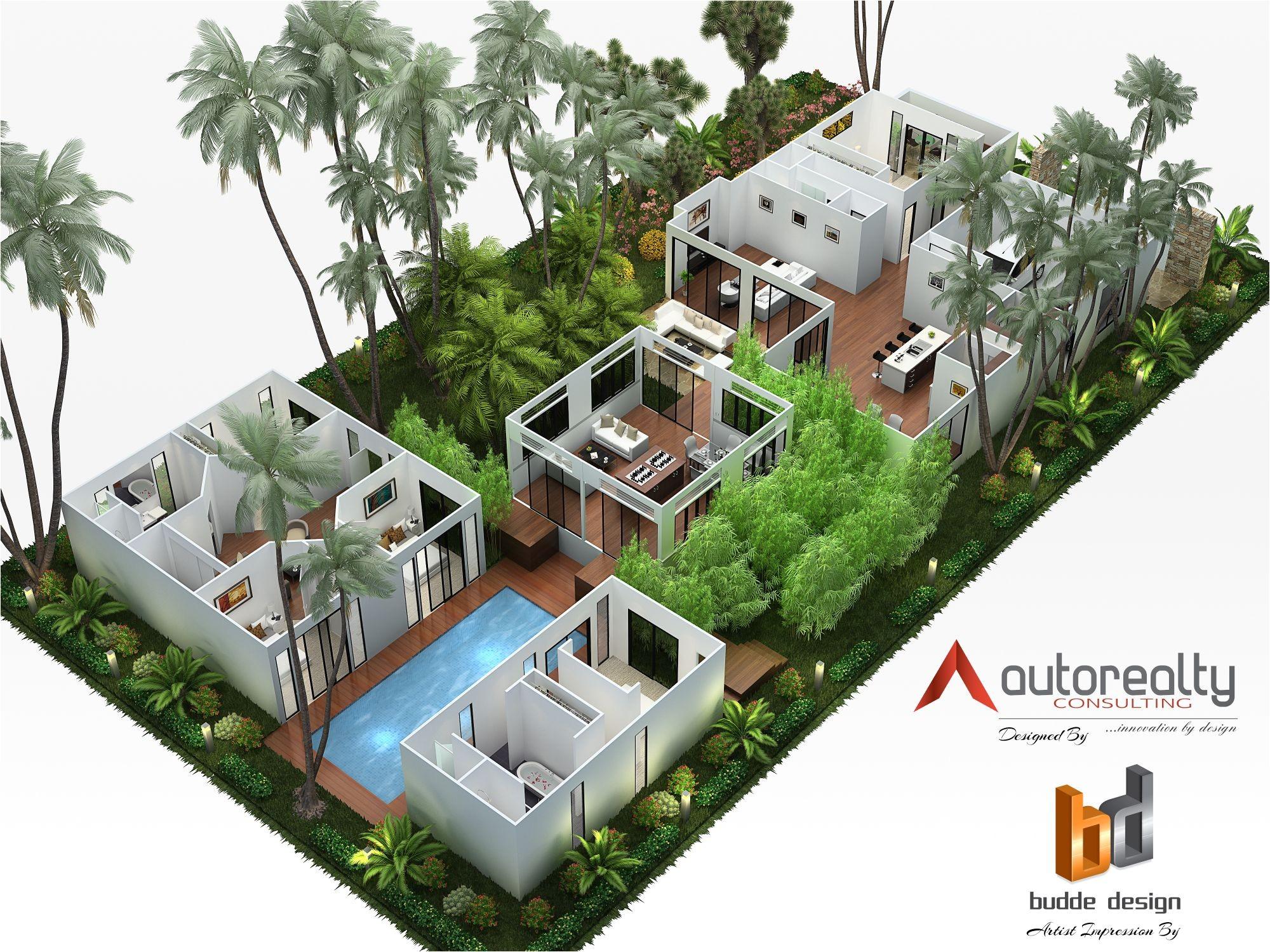 3d floor plan jakarta indonesia
