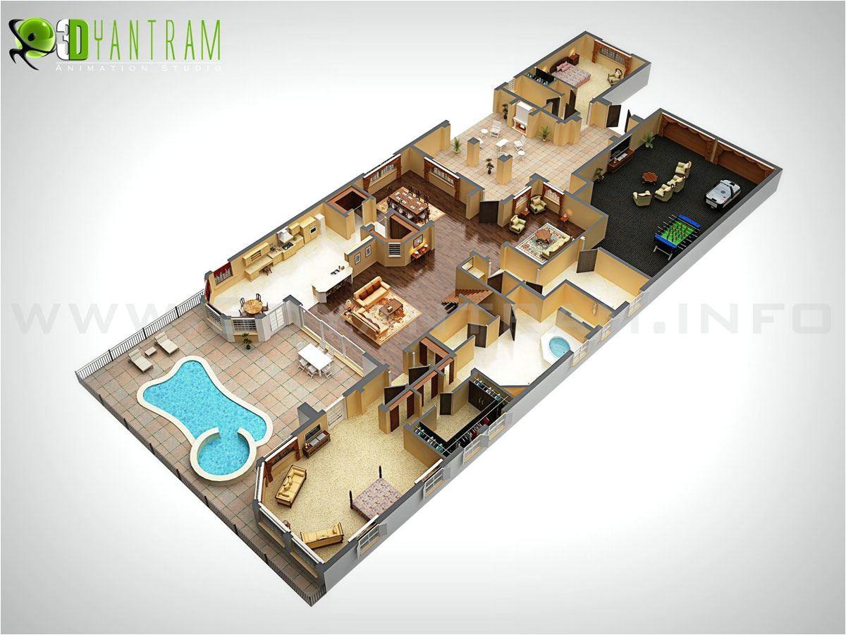 3d Home Floor Plan Design 3d Floor Plan Design Interactive 3d Floor Plan Yantram