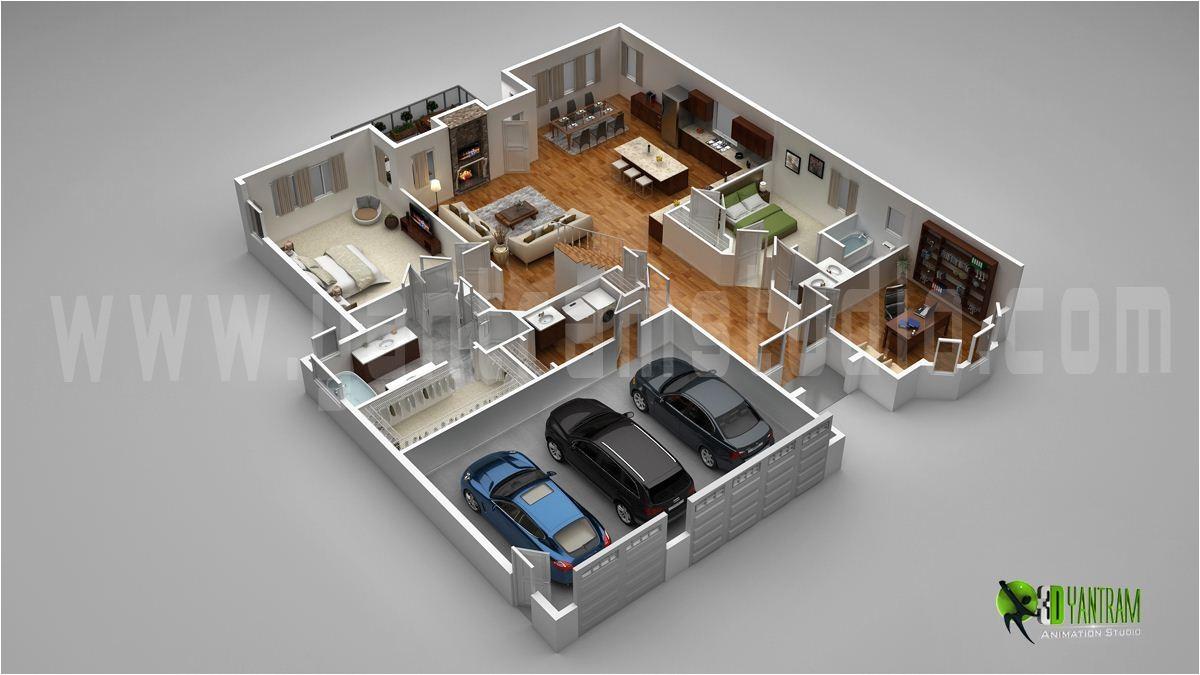3d Home Floor Plan Design 3d Floor Plan Interactive 3d Floor Plans Design Virtual