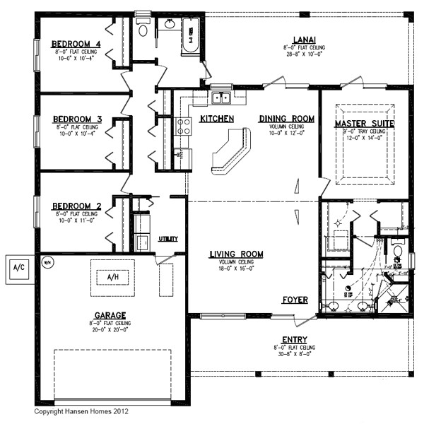 4 Bedroom 2 Bath 2 Car Garage House Plans the Huntington with Porch Home Plan 4 Bedroom 2 Bath 2