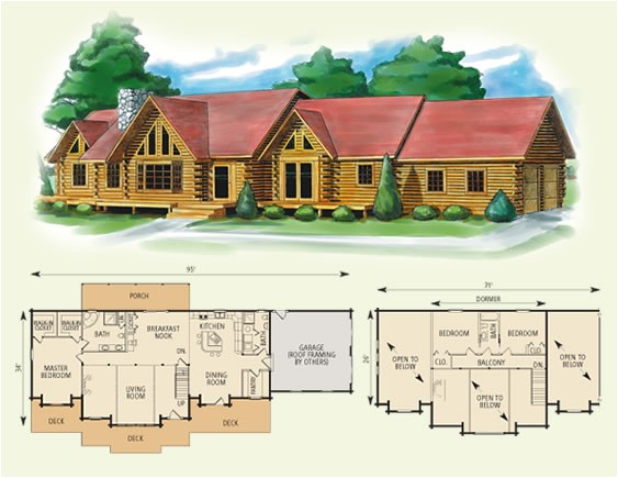 4 bedroom log cabin kits for sale