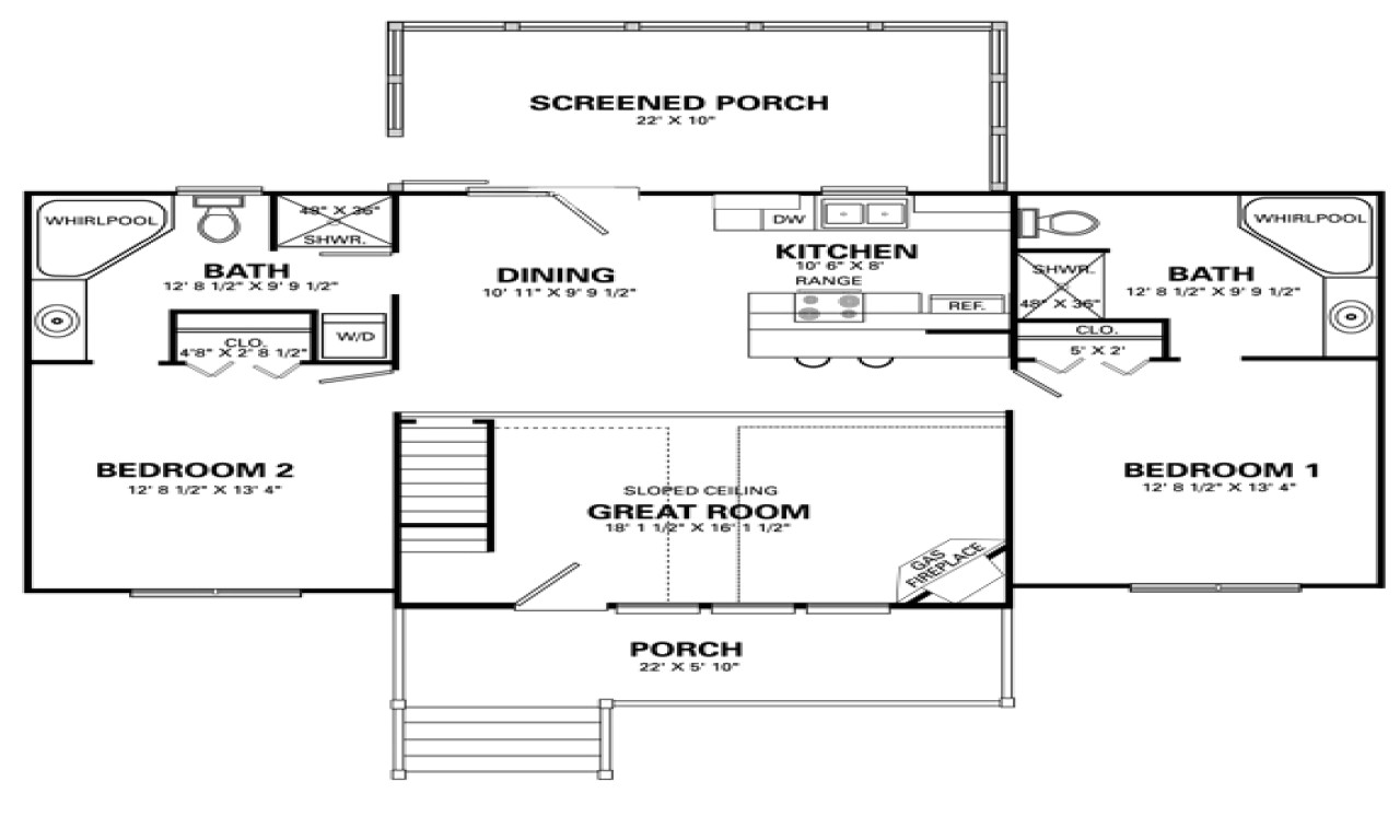 b08f5964c67784e1 one level house plans with 4 bedrooms simple 4 bedroom house floor plans