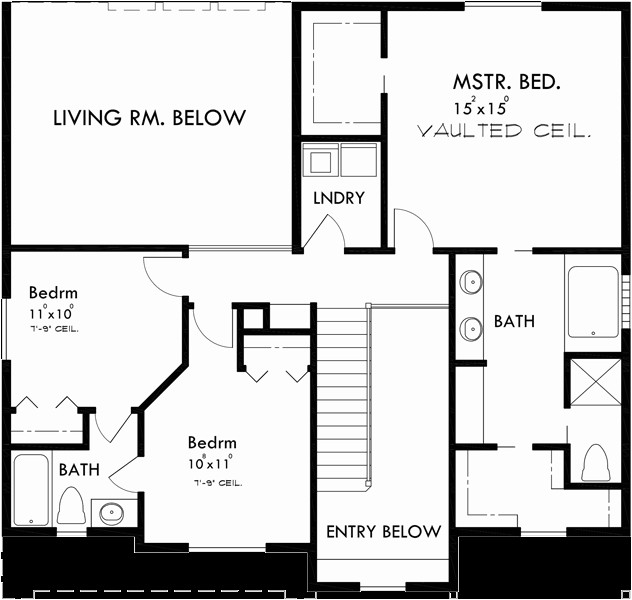 wide lot house plans