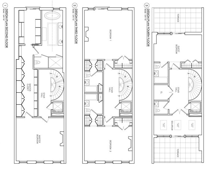 50 foot wide house plans modern ranch lot soiaya 2