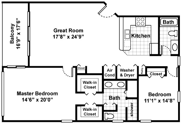 500 square foot cottage plans