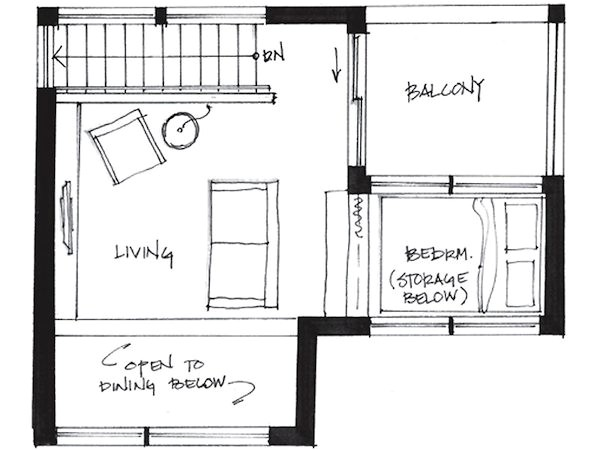 cabin plans under 500 sq ft