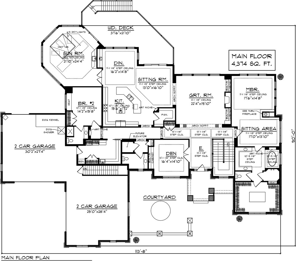 7000 sq ft house plans